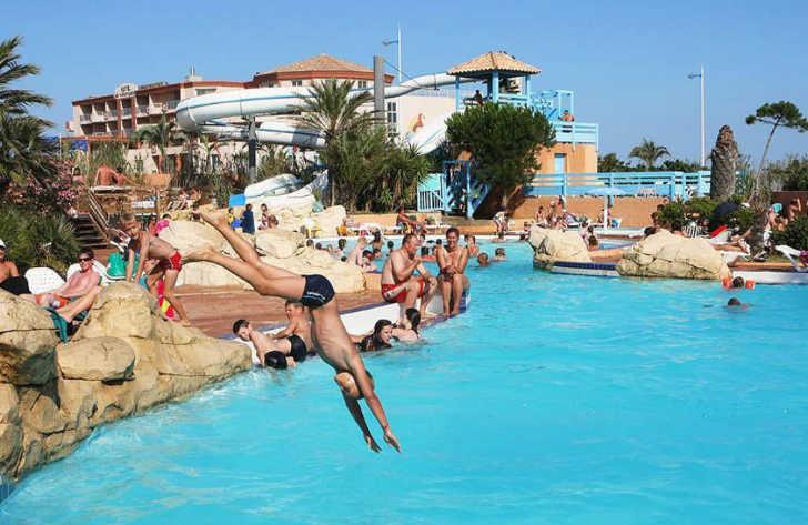 Camping Club Mar Estang Pool complex