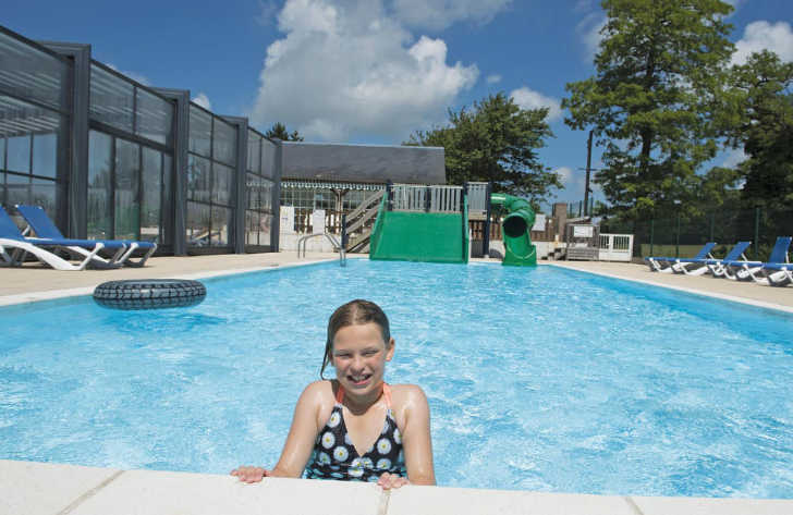 Domaine de Drancourt Waterslide and Pool