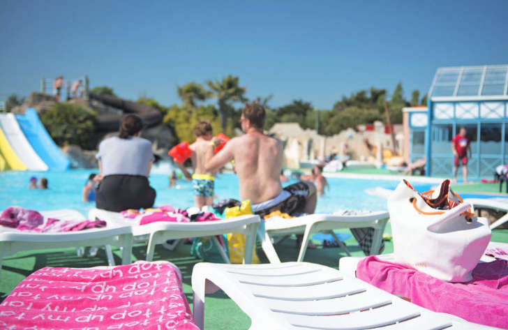 Le Clarys Plage Pool Loungers